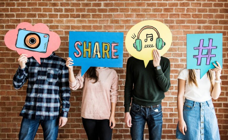 Social media organic growth